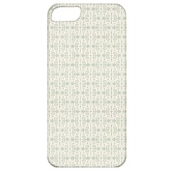 Vintage Floral Ornament Pattern Apple iPhone 5 Classic Hardshell Case