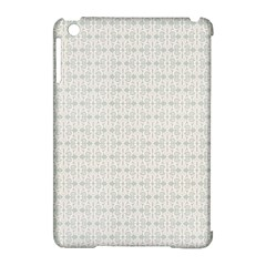 Vintage Floral Ornament Pattern Apple iPad Mini Hardshell Case (Compatible with Smart Cover)