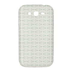 Vintage Floral Ornament Pattern Samsung Galaxy Grand DUOS I9082 Hardshell Case