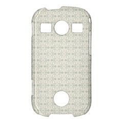 Vintage Floral Ornament Pattern Samsung Galaxy S7710 Xcover 2 Hardshell Case