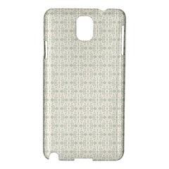 Vintage Floral Ornament Pattern Samsung Galaxy Note 3 N9005 Hardshell Case