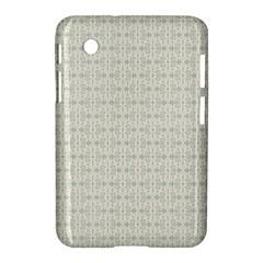 Vintage Floral Ornament Pattern Samsung Galaxy Tab 2 (7 ) P3100 Hardshell Case