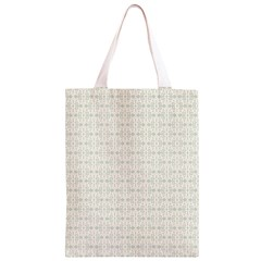 Vintage Floral Ornament Pattern Classic Light Tote Bag
