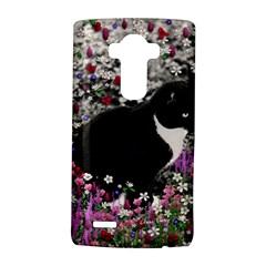 Freckles In Flowers Ii, Black White Tux Cat Lg G4 Hardshell Case