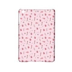 Cute Pink Birds And Flowers Pattern iPad Mini 2 Hardshell Cases