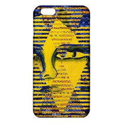 Conundrum II, Abstract Golden & Sapphire Goddess iPhone 6 Plus/6S Plus TPU Case