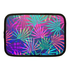 Colored Palm Leaves Background Netbook Case (Medium)