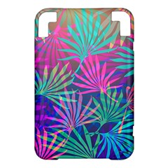 Colored Palm Leaves Background Kindle 3 Keyboard 3G
