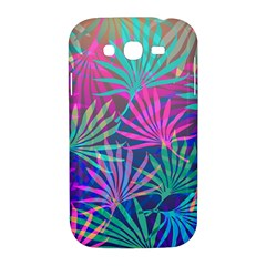Colored Palm Leaves Background Samsung Galaxy Grand DUOS I9082 Hardshell Case