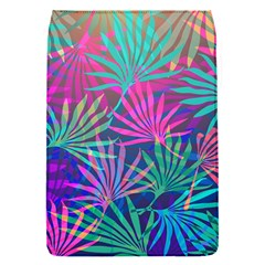 Colored Palm Leaves Background Flap Covers (S)