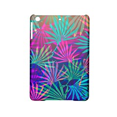 Colored Palm Leaves Background iPad Mini 2 Hardshell Cases