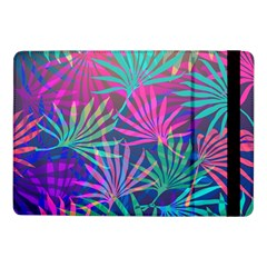 Colored Palm Leaves Background Samsung Galaxy Tab Pro 10.1  Flip Case