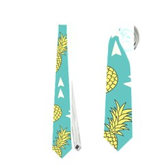 Summer Pineapples Fruit Pattern Neckties (two Side)