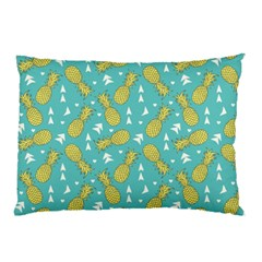 Summer Pineapples Fruit Pattern Pillow Case (two Sides)