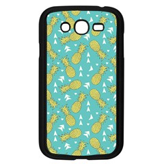Summer Pineapples Fruit Pattern Samsung Galaxy Grand DUOS I9082 Case (Black)