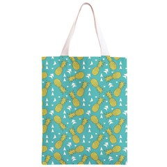 Summer Pineapples Fruit Pattern Classic Light Tote Bag