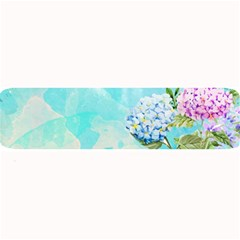 Watercolor Fresh Flowery Background Large Bar Mats