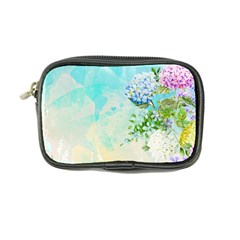 Watercolor Fresh Flowery Background Coin Purse