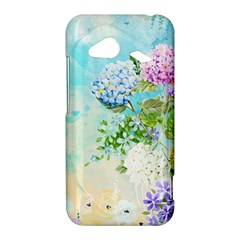 Watercolor Fresh Flowery Background HTC Droid Incredible 4G LTE Hardshell Case