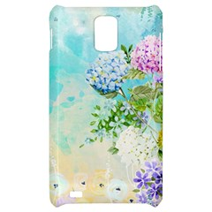 Watercolor Fresh Flowery Background Samsung Infuse 4G Hardshell Case
