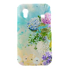 Watercolor Fresh Flowery Background Samsung Galaxy Ace S5830 Hardshell Case