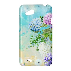 Watercolor Fresh Flowery Background HTC Desire VC (T328D) Hardshell Case
