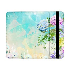Watercolor Fresh Flowery Background Samsung Galaxy Tab Pro 8.4  Flip Case