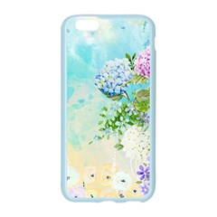 Watercolor Fresh Flowery Background Apple Seamless iPhone 6/6S Case (Color)