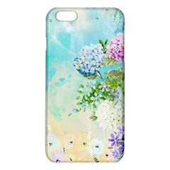 Watercolor Fresh Flowery Background Iphone 6 Plus/6s Plus Tpu Case