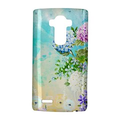 Watercolor Fresh Flowery Background LG G4 Hardshell Case