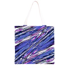 Abstract Collage Print Grocery Light Tote Bag