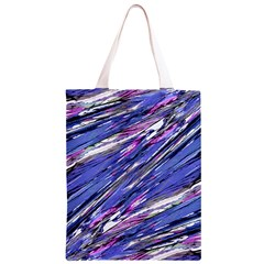 Abstract Collage Print Classic Light Tote Bag
