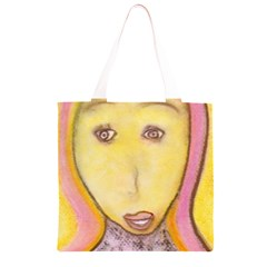 Portrait of Archangel Michael, Spiritual Chalks Drawing Grocery Light Tote Bag