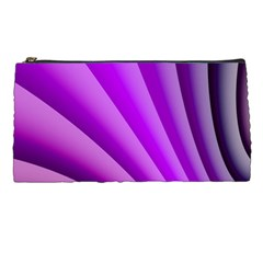 Gentle Folds Of Purple Pencil Cases