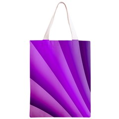 Gentle Folds Of Purple Classic Light Tote Bag