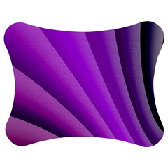 Gentle Folds Of Purple Jigsaw Puzzle Photo Stand (Bow)