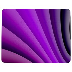 Gentle Folds Of Purple Jigsaw Puzzle Photo Stand (Rectangular)