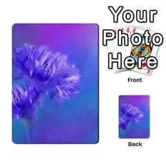 Purple Cornflower Floral  Multi-purpose Cards (Rectangle)