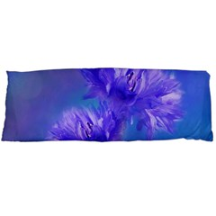 Flowers Cornflower Floral Chic Stylish Purple  Body Pillow Case (dakimakura)