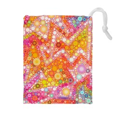 Sunshine Bubbles Drawstring Pouches (Extra Large)