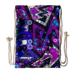 Hipster Bubbes Drawstring Bag (large)
