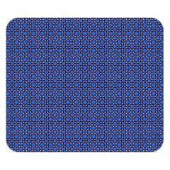 Alvilde Othelie Blue Pink Black Pattern  Double Sided Flano Blanket (small)
