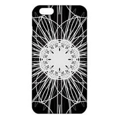 Black And White Flower Mandala Art Kaleidoscope Iphone 6 Plus/6s Plus Tpu Case