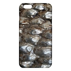 Festive Silver Metallic Abstract Art iPhone 6 Plus/6S Plus TPU Case