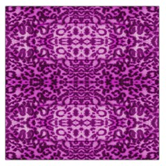 Lion In Purple Large Satin Scarf (square)