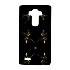 Festive Black Golden Lights  Lg G4 Hardshell Case