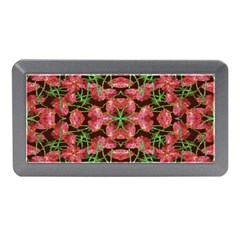 Floral Collage Pattern Memory Card Reader (mini)