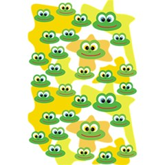 Cute Frog Family Whimsical Funny 5 5  X 8 5  Notebooks
