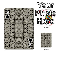 Interlace Arabesque Pattern Playing Cards 54 Designs