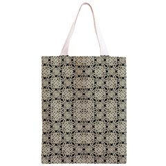 Interlace Arabesque Pattern Classic Light Tote Bag